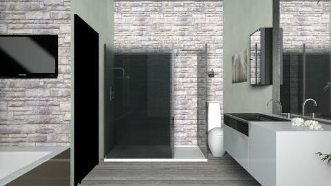 bath - Rustic - Bathroom - by barly