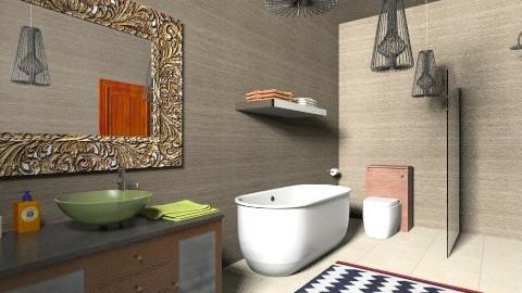 Modern Bathroom 3 - Retro - Bathroom - by tillsa98
