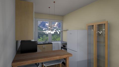 1st - Kitchen - by Camille Ann