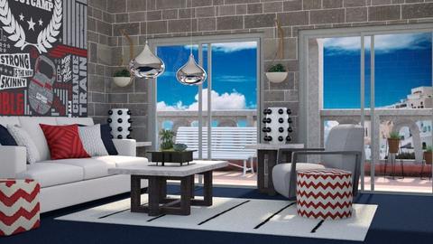 Roma Blue Carpet - Living room - by millerfam