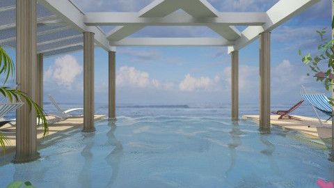 Pool by the sea - Classic - Garden - by Bibiche