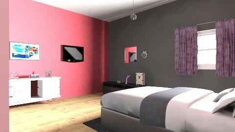 Simple Bedroom - Bedroom - by monabaydoun