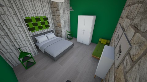 green woods  - Country - Bedroom - by Scarlett Eccles