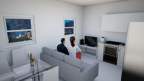 Nasinhovi ALKU - Living room - by bluerock91