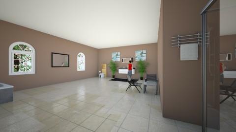 Stock Home Bathroom - Modern - Office - by hunteronstad