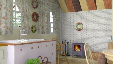 Country kitchen - Country - Kitchen - by Laurika