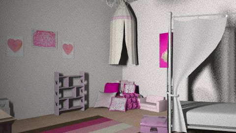 pink lil girl - Feminine - Kids room - by jauxier2002