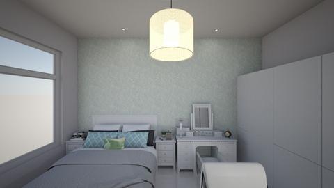 Vivians bedroom  - Modern - Bedroom - by Vivianhsuan