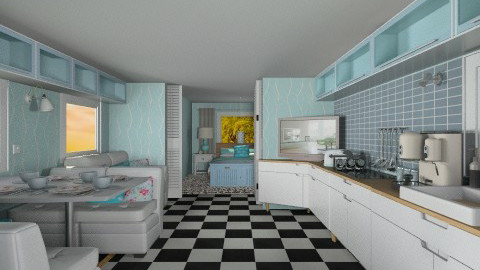 Retro home - Modern - by derers_brown