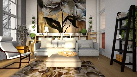 Sunny_Afternoon - Living room - by ZuzanaDesign