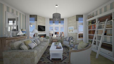 De Haan aan Zee - Living room - by Tim VB