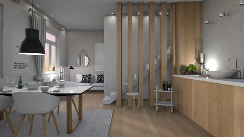 skandinavisk - Kitchen - by siljaj
