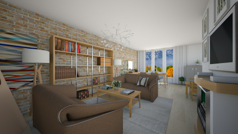 For Alma Seho II - Eclectic - Living room - by Theadora