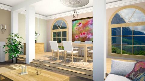 Butterfly - Living room - by Regina Egan