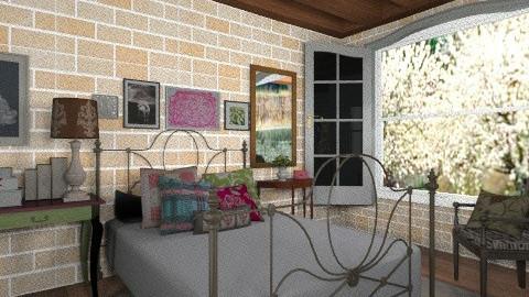 bedroom of farm - Country - Bedroom - by Maria_Julia