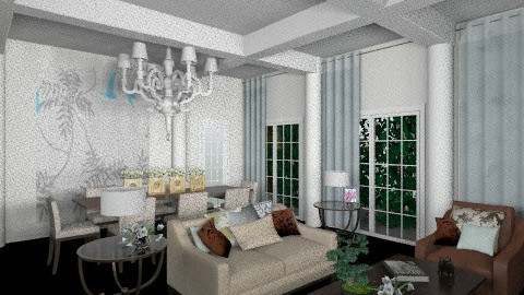 salotto arioso 2 - Modern - Living room - by livia87