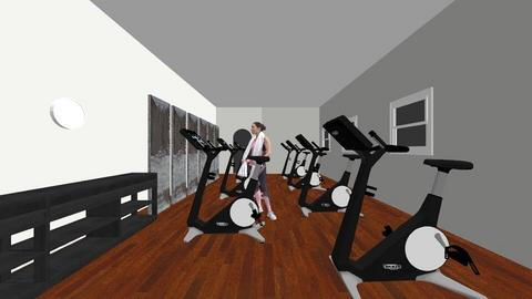 habitacion n1 gym - by letismile