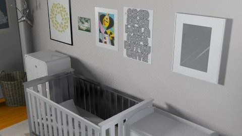 Childnursery - Retro - Kids room - by gigideco