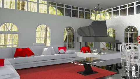 clean - Living room - by boccadirosa