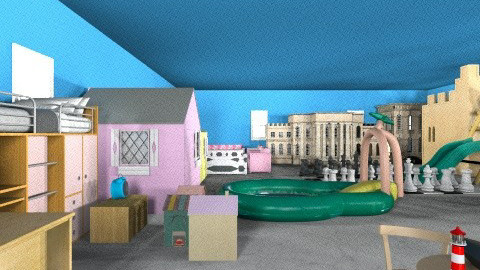 Childrens Haven - Kids room - by Nayel Arif