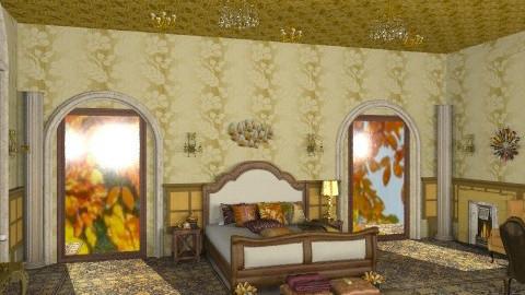Gold princess - Rustic - Bedroom - by ATELOIV87