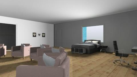 my dream bedroom - Modern - Bedroom - by natdacat38