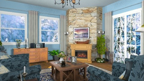 A little old fashion - Classic - Living room - by Bibiche