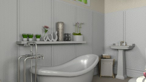 Compact Ensuite - Country - Bathroom - by Carliam