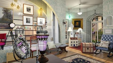 vintage shop - by Bren123