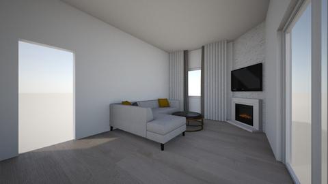 Greg - Living room - by rickglassinteriors