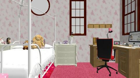 Sasha Rooms - Feminine - Bedroom - by misakihara