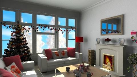Merry Christmas - Glamour - Living room - by anjuska9
