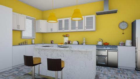 Calm - Modern - Kitchen - by colorful_eye