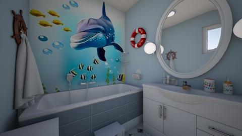 Kids Bath2 - Bathroom - by Flori Santa