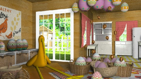 a lot of work...... - Eclectic - Kitchen - by chania