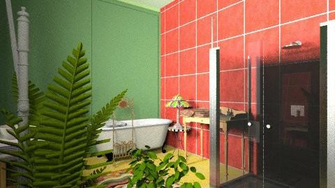 bathroom - Vintage - Bathroom - by Pixie Inparadise