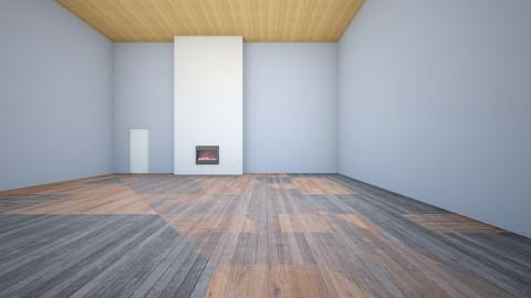 Jen  Pat - Living room - by kashamitchel