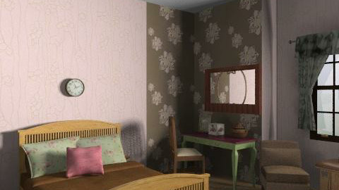 p and g - Country - Bedroom - by mogly