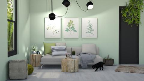 MADSEN template - Living room - by mgirlie30