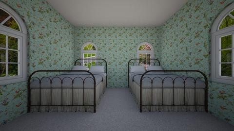 Country Bedroom - by Cool Coder Girl