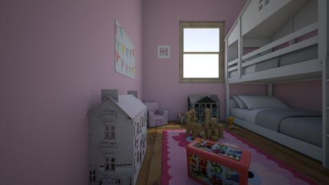 toddler twins - Feminine - Kids room - by lasd