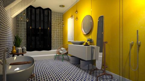 lemon drop - Bathroom - by Ripley86