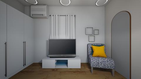 My Bedroom completed 2 - Bedroom - by Tenoka1