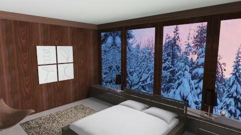 MINIMALISTIC BEDROOM - Minimal - Bedroom - by ANAAPRIL