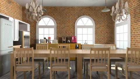 Kitchen  - Vintage - Kitchen - by Romanshotel