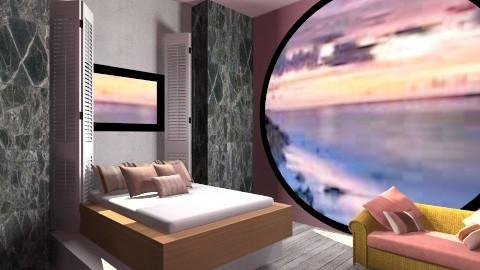 paradise - Minimal - Bedroom - by AshiraLevana