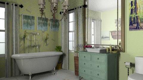 bathroom - Country - Bathroom - by sarahl