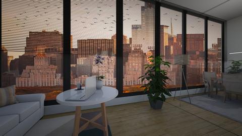 NY - Living room - by emilka4567890