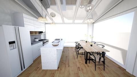 Scandi Kitchen - Modern - Kitchen - by annmaira