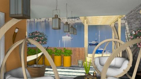 patio campgne - Rustic - Garden - by calu13